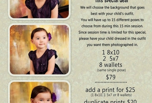 Join the Birthday Club- Discounted Birthday Sessions for your Child